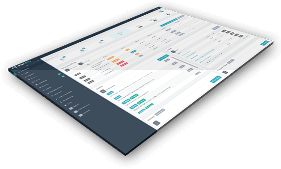 Insurance agency management software dashboard preview
